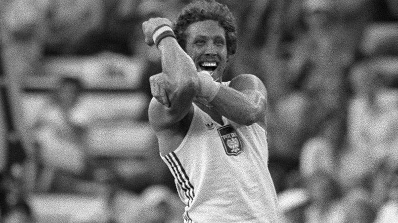 1980 à Moscou. Le Polonais Wladislaw Kozakiewicz remporte l