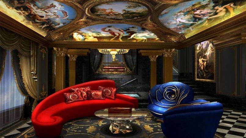 Chambres villas ambiance versailles d couvrez l 39 h tel le plus luxueux - Canape le plus cher du monde ...