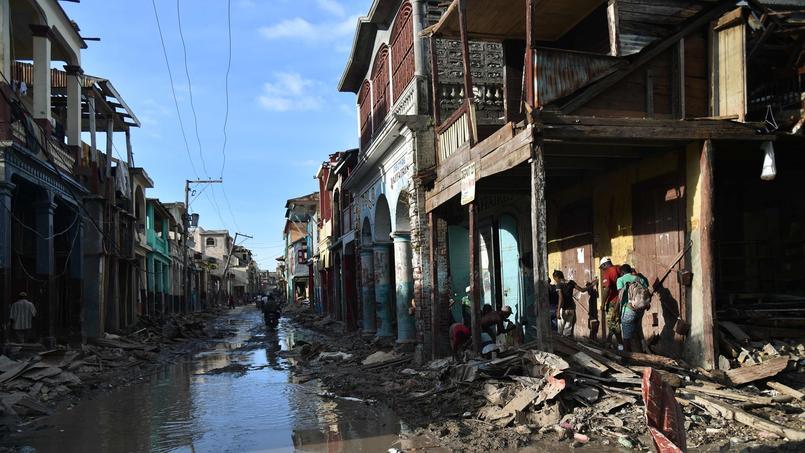 Dans cette ville de 30.000 habitants, 80% des bâtiments ont été rasés.