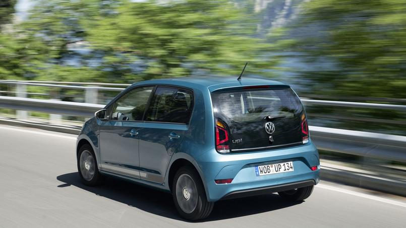 La Up! reste disponible avec deux carrosseries, à trois et cinq portes.
