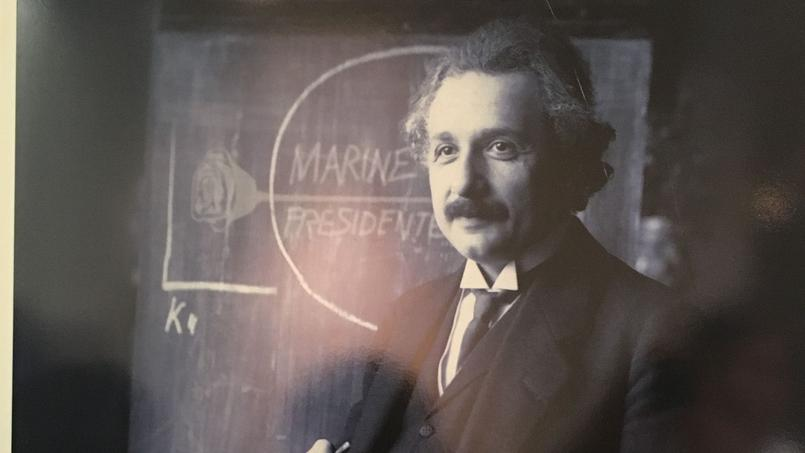 Albert Einstein.