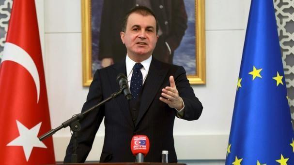 Le ministre turc des Affaires européennes Ömer Çelik