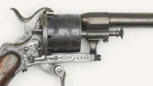 La maison Christie's propose aux enchères le fameux 7mm Lefaucheux, arme avec laquelle Verlaine aurait tenté de tuer Rimbaud.