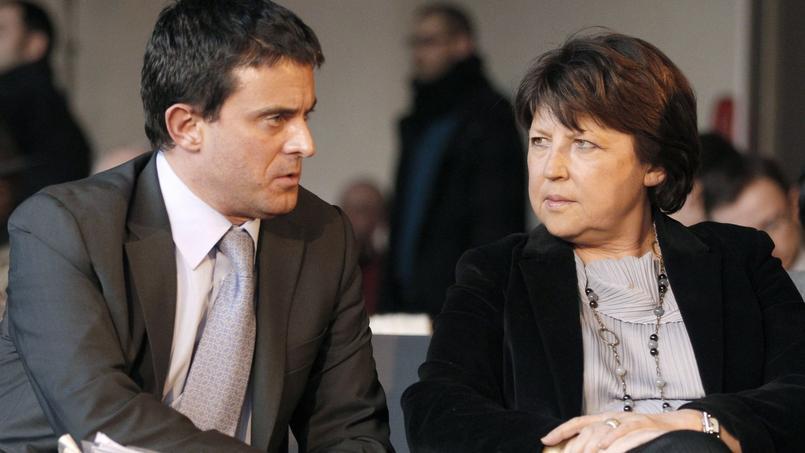 Manuel Valls et Martine Aubry s'étaient affrontés dans un style épistolaire à l'été 2009.