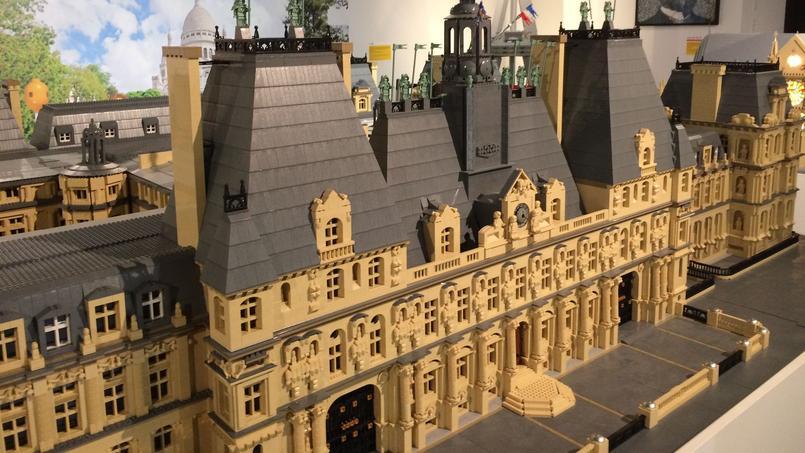 Les monuments de paris en lego for Hotel paris pour 2 heures