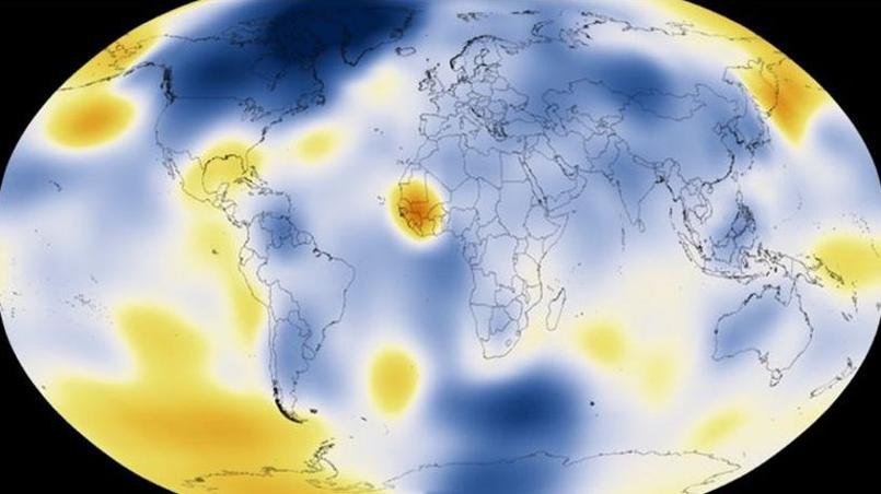 Data source: NASA/GISS - Credit: NASA Scientific Visualization Studio