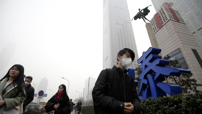 La Chine dans un nuage de pollution