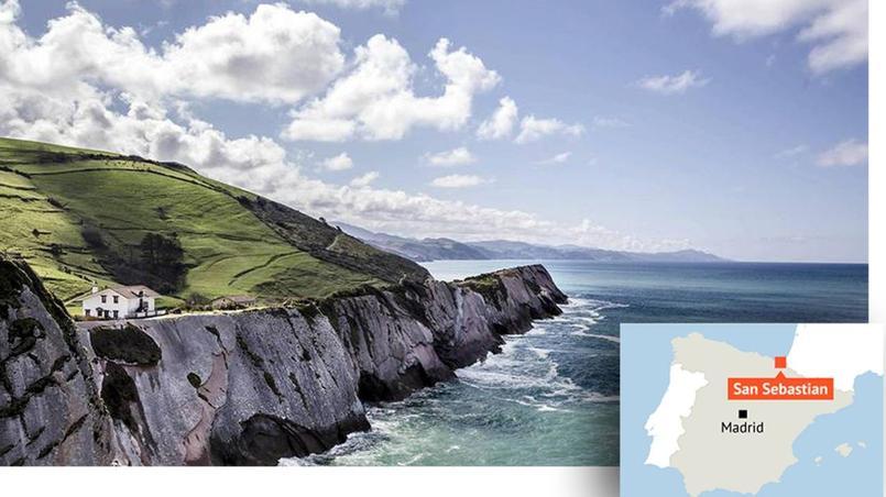 La côte basque, près de San Sebastian. © Arnaud Robin pour le Figaro Magazine