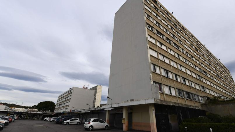 The park Kalliste is a réresidence, built in the années 1960 with 9 buildings for 753 dwellings.