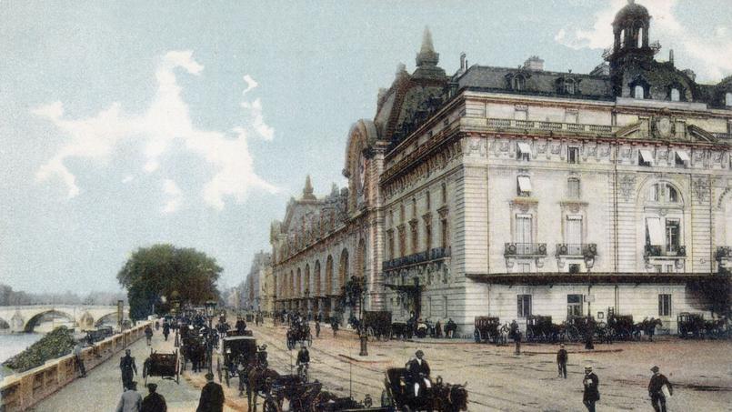 La gare d'Orsay en 1898.