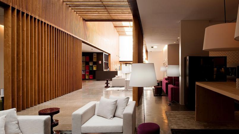 Le lobby. © Inspira Santa Marta.