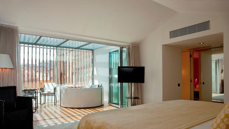 La suite Terra Spa. © Inspira Santa Marta.