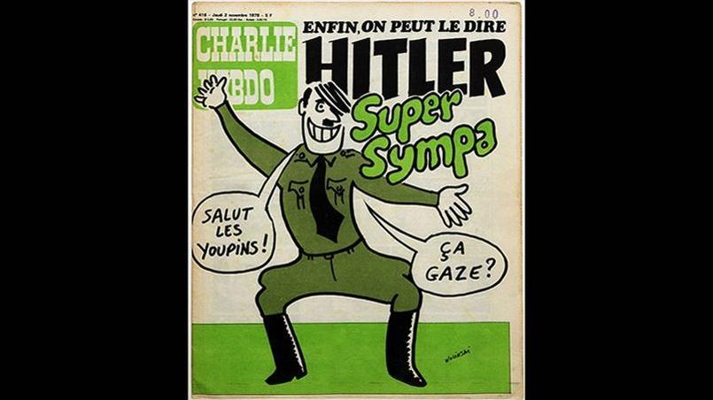 «Charlie Hebdo» 416 cover © Maryse Wolinski