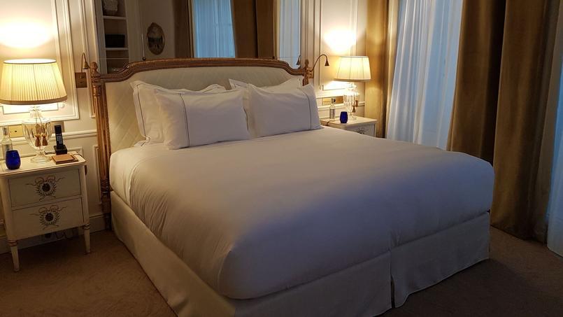 Un lit king size, archiconfortable. © PVD.