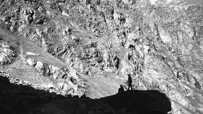 Le journaliste a pris des photos lors de la traversée du col de Fenestre, en octobre 2015.