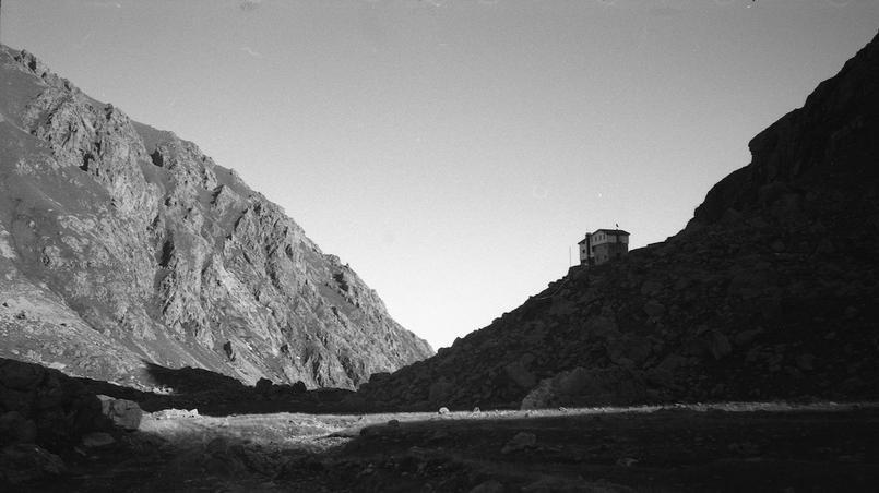 Le refuge Soria Ellena, dernier avant le col de Fenestre.