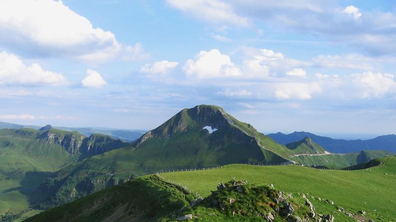 Puy Mary - Volcan du Cantal (Cantal), labellisé Grand Site de France en 2012.