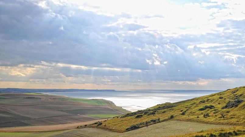 Les Deux-Caps Blanc-Nez, Gris-Nez (Hauts-de-France), labellisé Grand Site de France en 2011.
