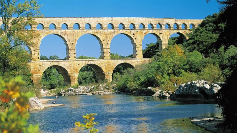 Pont du Gard - (Occitanie), labellisé Grand Site de France en 2004   Renouvelé en 2011.