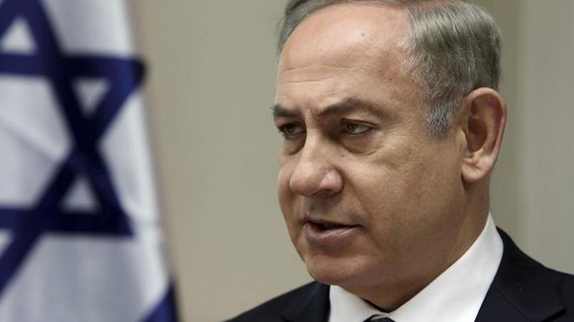 Le premier ministre israélien Benyamin Nétanyahou à Jérusalem le 12 février 2017
