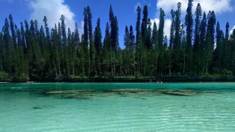 La piscine naturelle de la baie d'Oro.