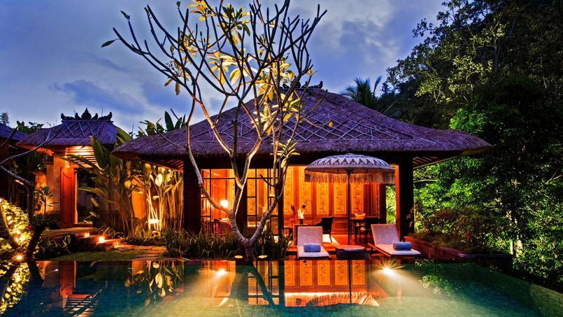 Le Mandapa Ritz Carlton Reserve, un précieux refuge aux allures de village balinais.