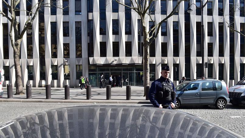 Le siège du FMI à Paris, hier.