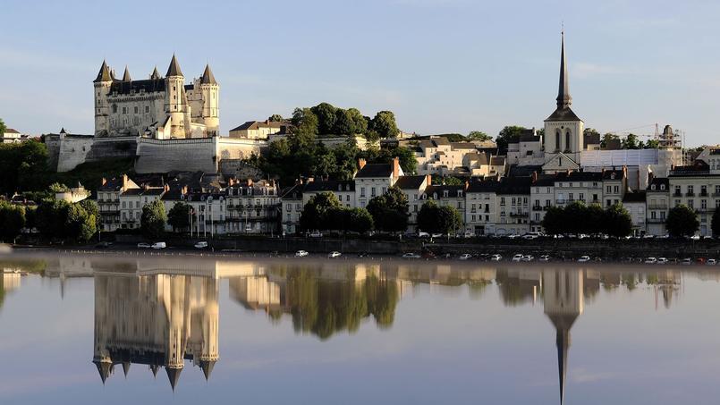 Saumur, une des étapes de la Vélo Francette.