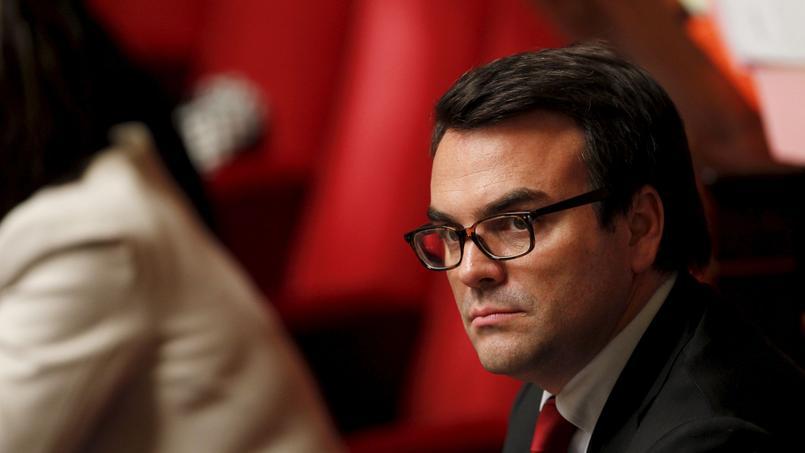 Thomas Thévenoud à l'Assemblée nationale en 2012.