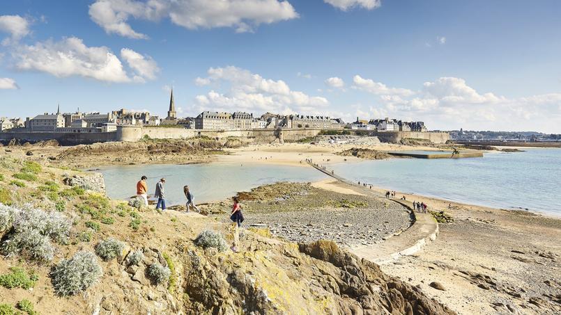 Selon les marées, le paysage change radicalement. © A Lamoureux