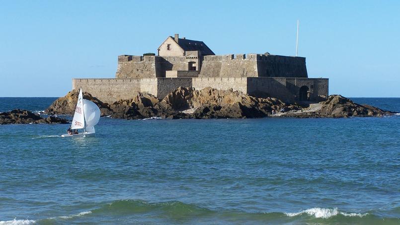 Le fort National, une des structures défensives installées autour de Saint Malo par Vauban. © NG Hernout