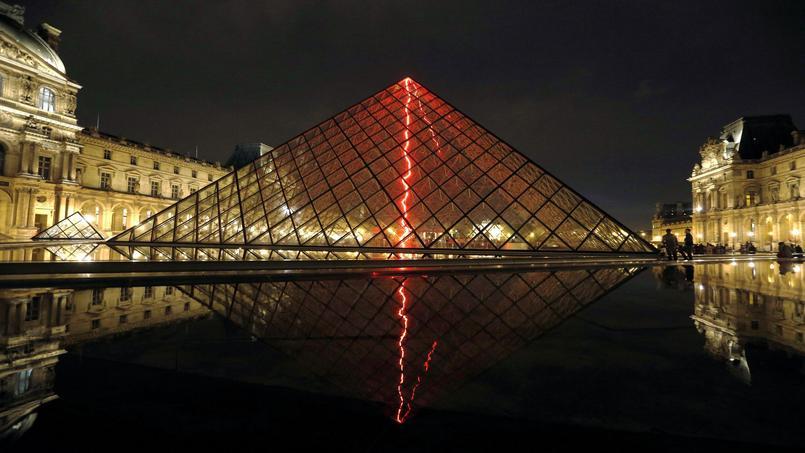 Le si cle de ieoh ming pei cr ateur de la pyramide du louvre - Inauguration pyramide du louvre ...