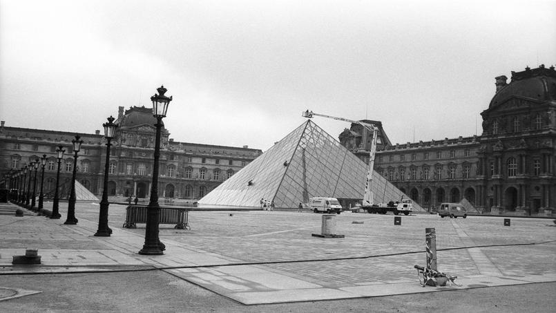Le si cle de ieoh ming pei cr ateur de la pyramide du louvre - Inauguration pyramide louvre ...