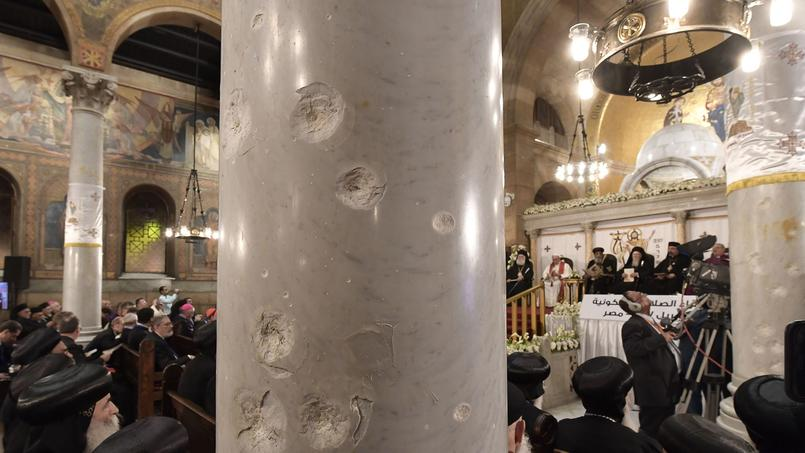Francis was in the Church Al Boutrosiyya Cairo, target of a bombing on December 11, 2016, to meet the Pope Coptic Theodore II of Alexandria.