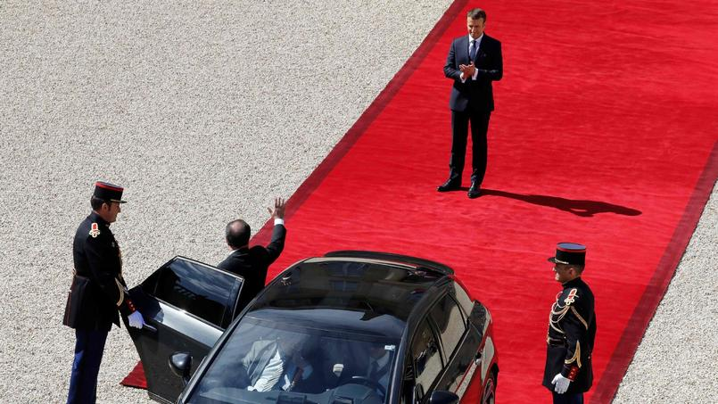 Le fil de la première journée d'Emmanuel Macron, président de la République