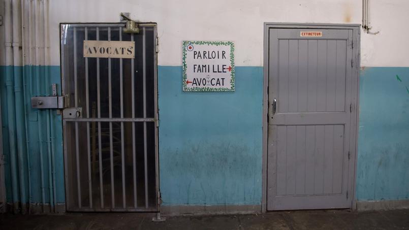 Dans «l'ancienne» prison des Baumettes, le 9 décembre 2016.