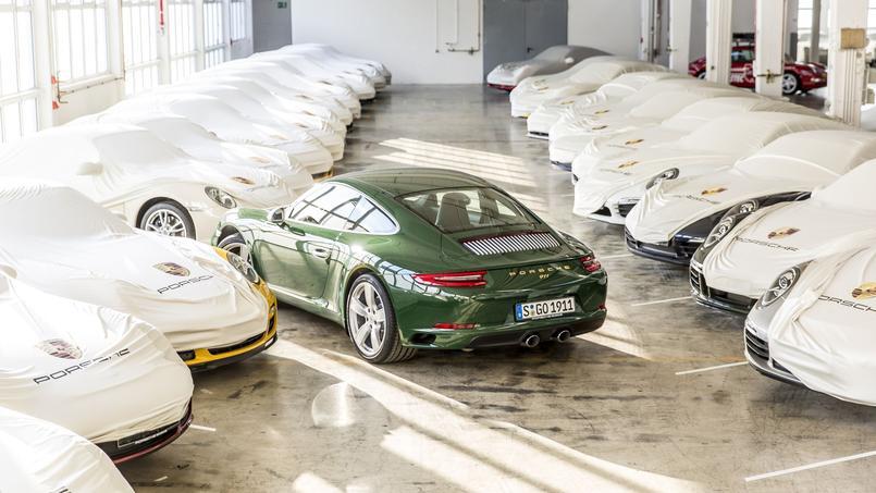 Le vert est l'un des coloris préféré de la famille Porsche et plus particulièrement de Wolfgang Porsche.