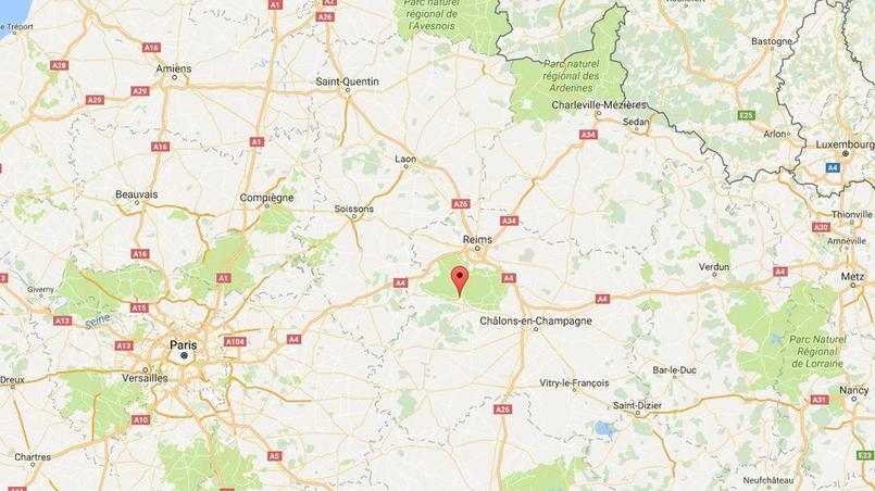 L'incident s'est produit au niveau du barrage de Cumières, à proximité d'Épernay.
