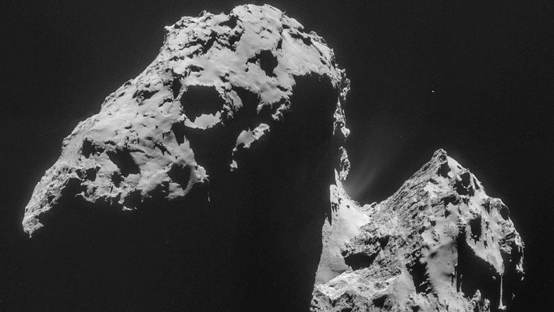 la comète Tchouri - 67P Crédit: ESA