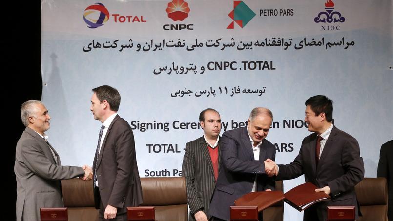 Un accord à 4,8 milliards de dollars avec l'Iran — Total