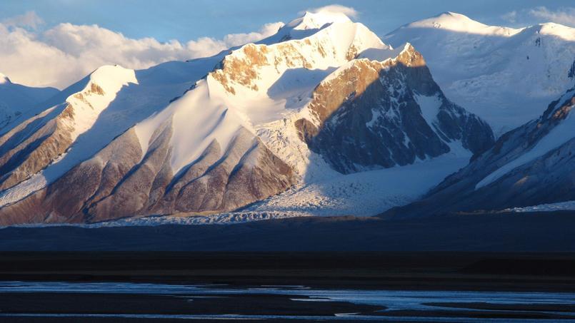Le Mont Bukadaban au crépuscule. (Hoh Xil Nature Reserve Administration)