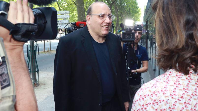 Julien Dray, nouveau porte-parole du PS.