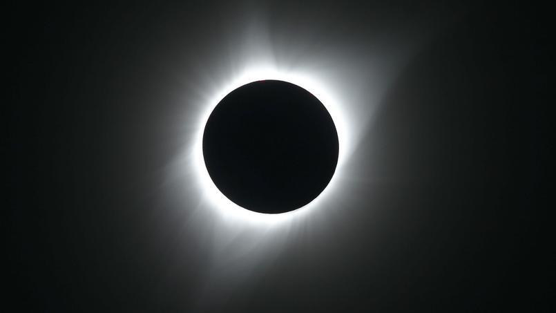 Magnifique éclipse totale du soleil aux Etats-Unis