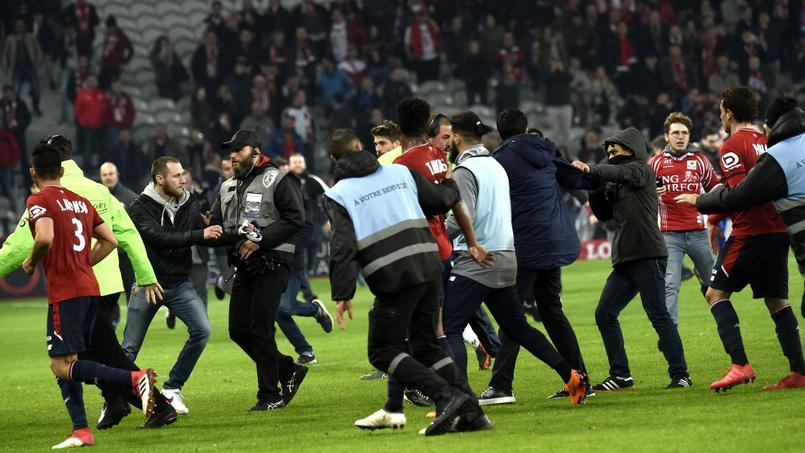 Que risque le LOSC après l'envahissement de terrain — Lille-Montpellier