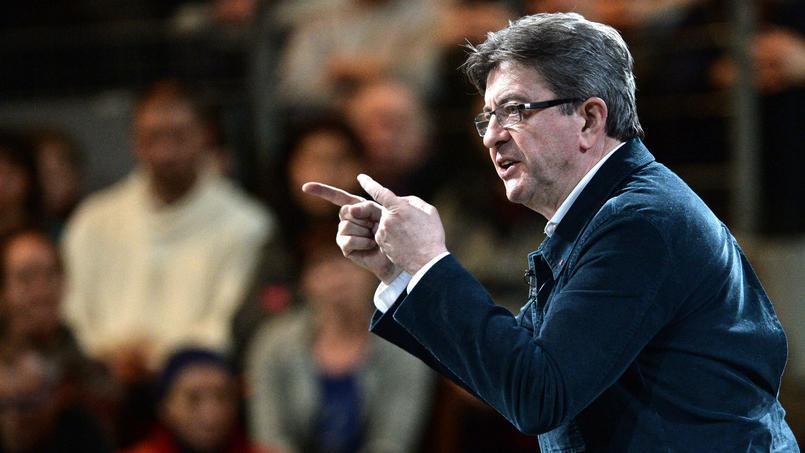 Jean-Luc Mélenchon, lors d'un meeting à Brest, le 28 février dernier.