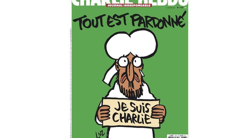 Les sémiologues et spécialistes des médias, Dominique Wolton et Jean-Didier Urbain, ont analysé pour Le Figarola couverture du derneir numéro de Charlie Hebdo publié ce matin. Pour eux, elle ne déroge pas à la ligne éditoriale.