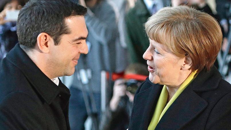 Merkel tend la main à Tsipras, en détresse financière
