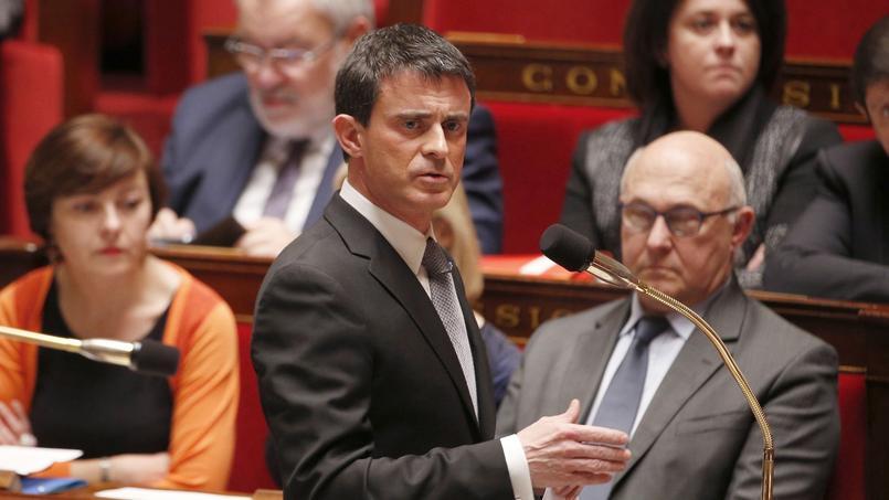 «Faire campagne, ça marche», a lancé Manuel Valls.