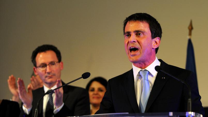 Manuel Valls à Tours, jeudi soir.