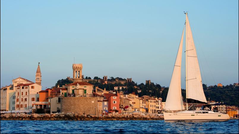 Piran, un port de pêche de la côte adriatique dont l'architecture typique révèle une forte influence vénitienne.